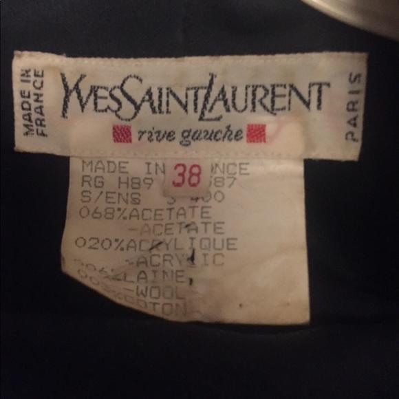 Yves Saint Laurent Dresses & Skirts - YSL label for @epoquemartin